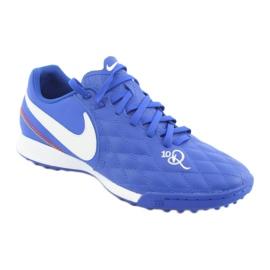 Chaussures de football Nike Tiempo Legend 7 Academy 10R Tf M AQ2218-410 bleu 1