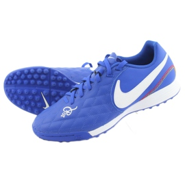 Chaussures de football Nike Tiempo Legend 7 Academy 10R Tf M AQ2218-410 bleu 5