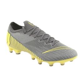 Chaussures de football Nike Mercurial Vapor 12 Elite Ag Pro M AH7379-070 gris gris / argent 1