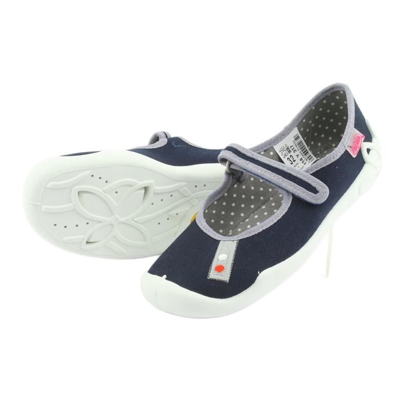 Befado bleu marine chaussures 114Y317 image 4