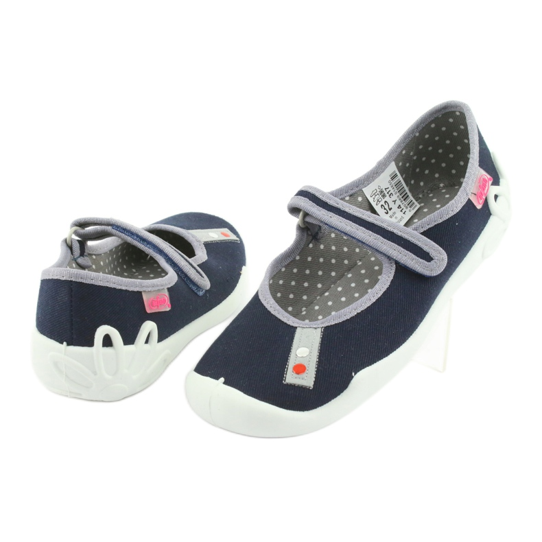 Befado bleu marine chaussures 114Y317 image 3