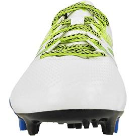 Chaussures de foot adidas X 15.3 FG / AG M S74635 blanc blanc 2