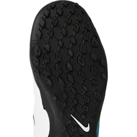Chaussures de football Nike HypervenomX Phelon Iii Tf Jr 852598-104 blanc, bleu bleu 1