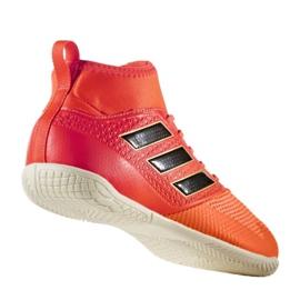 Chaussures d'intérieur adidas Ace Tango 17.3 In Jr CG3714 multicolore rouge 1