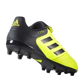 Chaussures de foot adidas Copa 17.3 Fg M S77143 multicolore noir, jaune 1