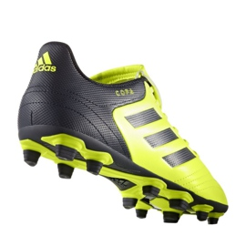 Chaussures de foot adidas Copa 17.4 FxG M S77162 noir, jaune noir 1
