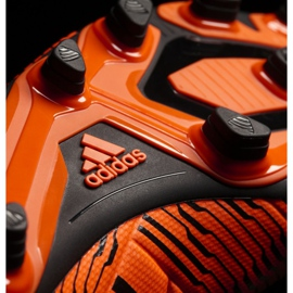 Chaussures de foot adidas Nemeziz 17.4 FxG M S80610 orange orange 3