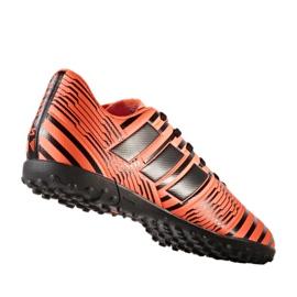Chaussures de foot adidas Nemeziz 17.4 Tf M S76979 orange orange 1