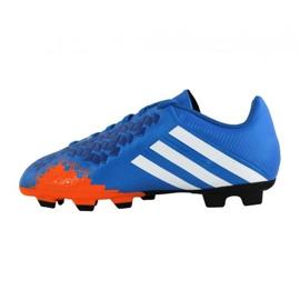 Chaussures de football Adidas Predito Lz Fg Junior Q21735 bleu bleu 3