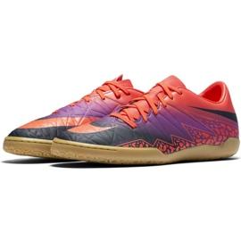 Chaussures d'intérieur Nike Hypervenom Phelon Ii Ic M 749898-845 orange orange, violet 2