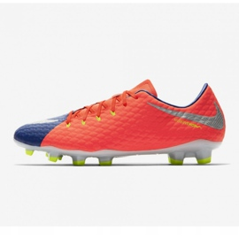 Chaussures de football Nike Hypervenom Phelon Iii Fg M 852556-409 orange noir, violet, orange 1