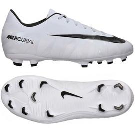 Chaussures de foot Nike Mercurial Victory Vi CR7 Fg Jr 852489-401 blanc 3