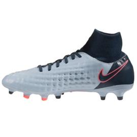 Chaussures de football Nike Magista Onda Df Fg M 917787-400 bleu bleu 1