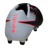 Chaussures de football Nike Tiempo Ligera Iv Fg M 897744-004 noir noir, gris / argent 3