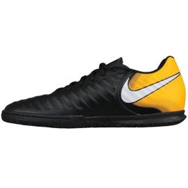 Chaussures d'intérieur Nike TiempoX Rio Iv Ic M 897769-008 noir, jaune noir 1