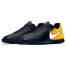 Chaussures d'intérieur Nike TiempoX Rio Iv Ic M 897769-008 noir, jaune noir 2