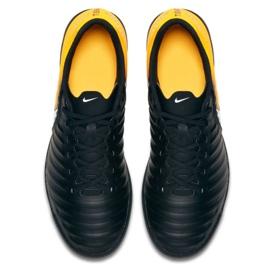 Chaussures d'intérieur Nike TiempoX Rio Iv Ic M 897769-008 noir, jaune noir 3