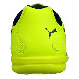 Chaussures Indoor Puma Adreno Iii En Jr 104050 09 vert jaune 1