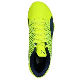 Chaussures Indoor Puma Adreno Iii En Jr 104050 09 vert jaune 2