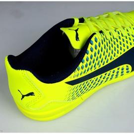 Chaussures Indoor Puma Adreno Iii En Jr 104050 09 vert jaune 3