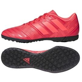 Chaussures de football Adidas Nemeziz Tango 17,4 Tf M CP9060 rouge multicolore 2