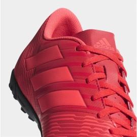 Chaussures de football Adidas Nemeziz Tango 17,4 Tf M CP9060 rouge multicolore 3