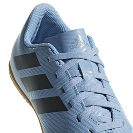 Adidas Nemeziz Messi Chaussures Tango In Jr DB2397 bleu bleu 3