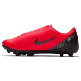 Nike Mercurial Vapor 12 Club Chaussures Ps V CR7 Mg Jr AJ3096-600 noir, rouge rouge 1