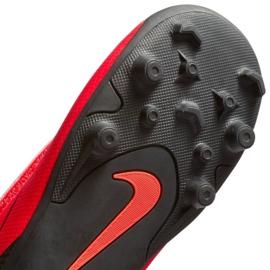 Nike Mercurial Vapor 12 Club Chaussures Ps V CR7 Mg Jr AJ3096-600 noir, rouge rouge 3