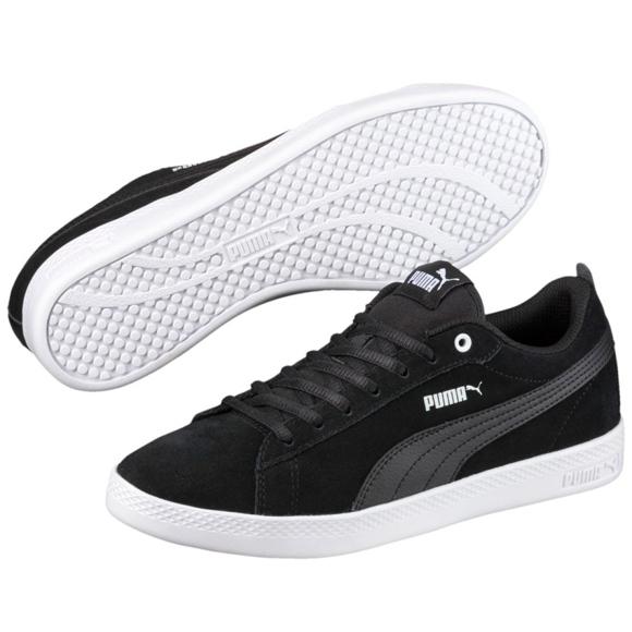 Noir Chaussures Puma Smash Wns v2 Sd W 365313 01 ButyModne.pl