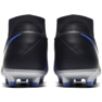 Chaussures de football Nike Phantom Academy Df M FG / MG AO3258-004 noir, bleu noir 4