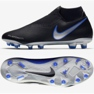 Chaussures de football Nike Phantom Academy Df M FG / MG AO3258-004 noir, bleu noir 7