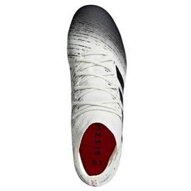 Chaussures de foot adidas Nemeziz 18.3 Fg M BB9437 blanc blanc 2
