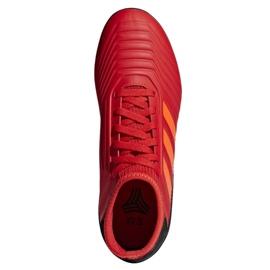 Chaussures de foot adidas Predator 19.3 Tf Jr CM8547 rouge rouge 2