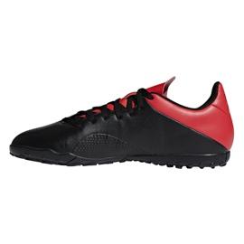 Chaussures de foot adidas X 18.4 Tf M BB9412 noir noir 1