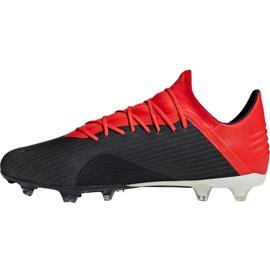 Chaussures de foot adidas X 18.2 Fg M BB9362 noir noir 2