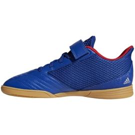 Chaussures Indoor adidas Predator 19.4 In Sala Jr CM8550 bleu bleu 1