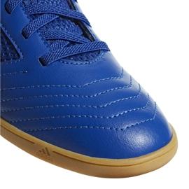Chaussures Indoor adidas Predator 19.4 In Sala Jr CM8550 bleu bleu 4