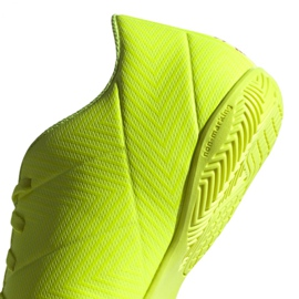 Chaussures Indoor adidas Nemeziz 18.4 In M BB9469 jaune jaune 4