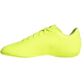 Chaussures Indoor adidas Nemeziz 18.4 In Jr CM8519 jaune jaune 1