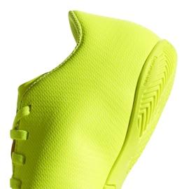 Chaussures Indoor adidas Nemeziz 18.4 In Jr CM8519 jaune jaune 4