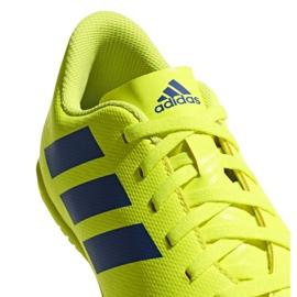 Chaussures Indoor adidas Nemeziz 18.4 In Jr CM8519 jaune jaune 5