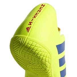 Chaussures Indoor adidas Nemeziz 18.4 In Jr CM8519 jaune jaune 6