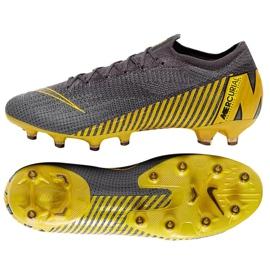 Chaussures de football Nike Mercurial Vapor 12 Elite Ag Pro M AH7379-070 gris gris / argent 5