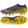 Chaussures de football Nike Mercurial Vapor 12 Elite Ag Pro M AH7379-070 gris / argent gris 5