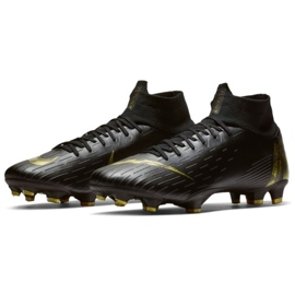 Chaussures de football Nike Mercurial Superfly 6 Pro Fg M AH7368-077 noir noir 3