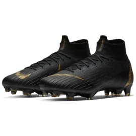 Chaussures de football Nike Mercurial Superfly 6 Elite Fg M AH7365-077 noir noir 3