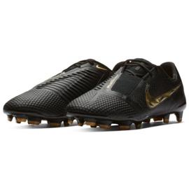 Chaussures de football Nike Phantom Venom Elite Fg M AO7540-077 noir noir 3