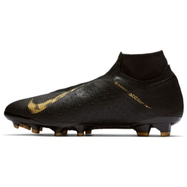Chaussures de football Nike Phantom Vsn Elite Df Fg M AO3262-077 noir noir 1