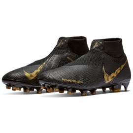 Chaussures de football Nike Phantom Vsn Elite Df Fg M AO3262-077 noir noir 3